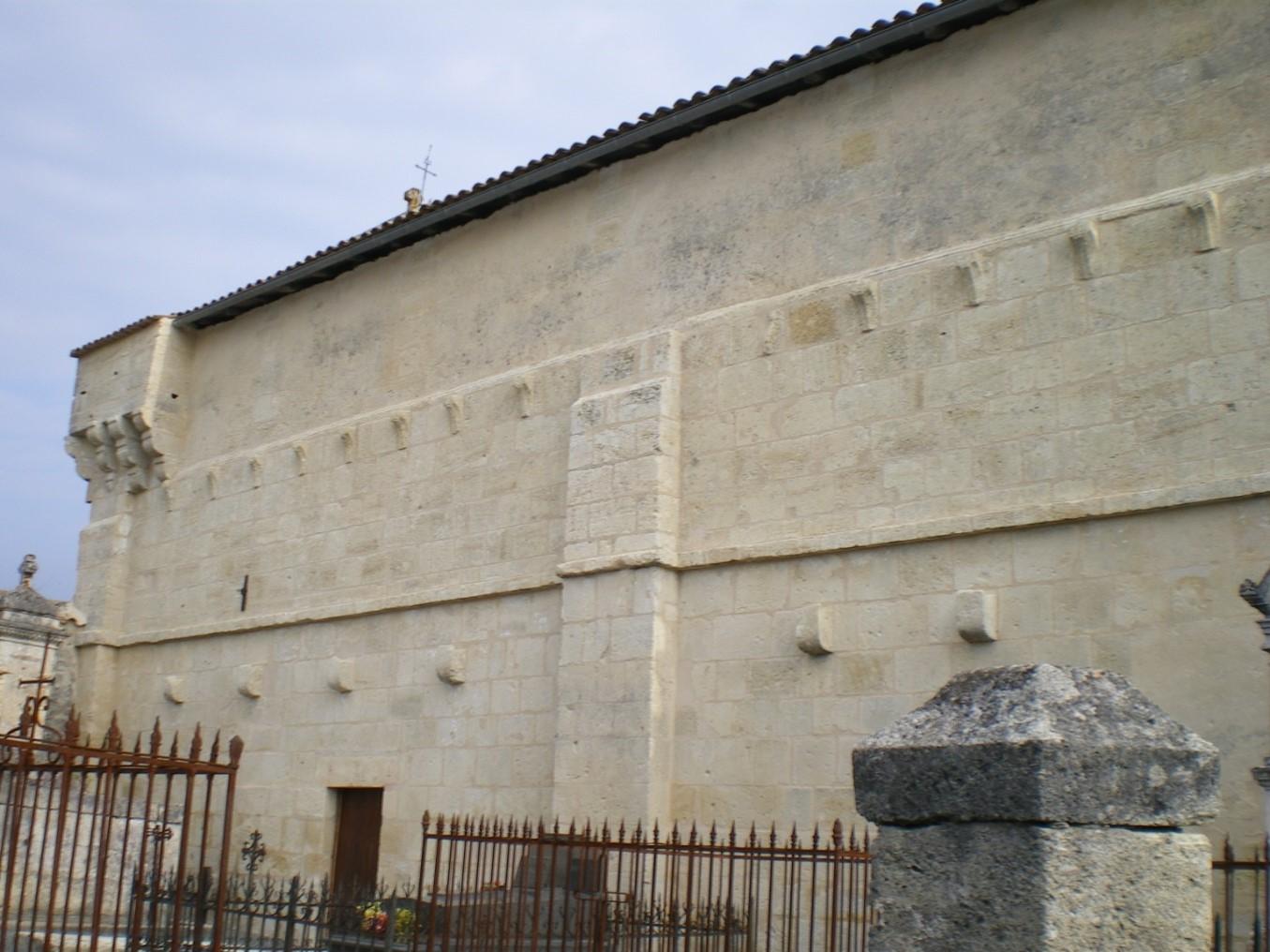 Mur sud restauré